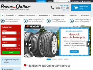 Autobanden Online Nerderland