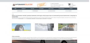 Autobanden Collectief voor het online kopen van goedkope banden