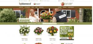 Bloemen bezorgen, bloemen bestellen en versturen Topbloemen nl
